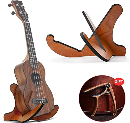 DTNO.I Soporte para guitarra, soporte universal de madera para ...
