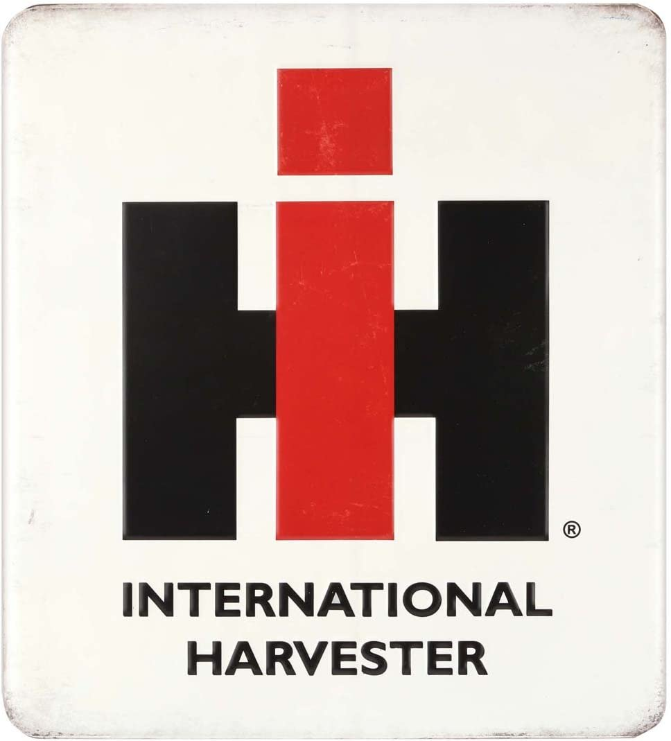 Open Road Brands Farmall International Harvester Vintage Embossed Metal Wall Art Sign - an Officially Licensed Product Great Addition to Add What You Love to Your Home/Garage Decor