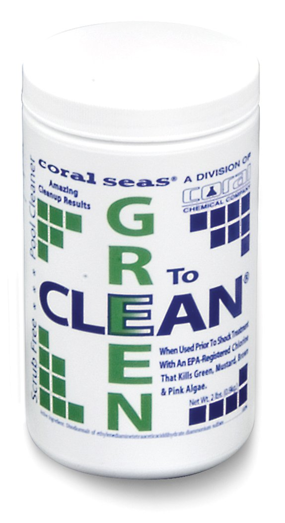 Coral Seas CS-1060 Green to Clean Pool Cleaning Supplies by Coral Seas