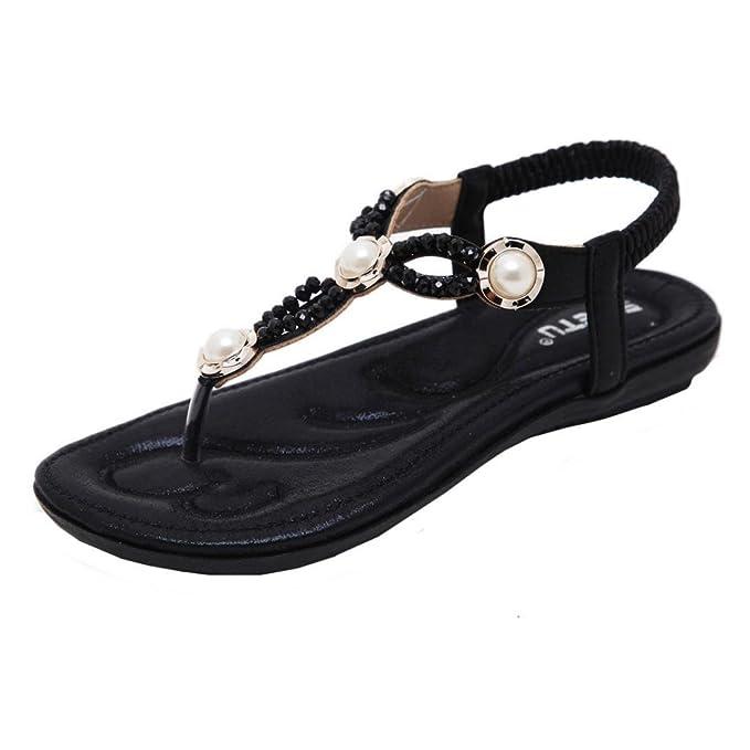 61912e3e77ad5d DIGOOD Bohemia Beach Sandals for Women