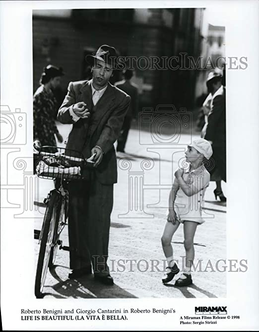 Amazon Com Historic Images 1998 Press Photo Life Is Beautiful With Roberto Benigni And Giorgio Cantarini Photographs