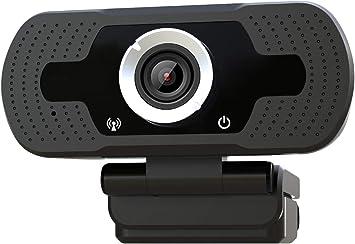 iFCOW HD Webcam,16 Megapixel USB 2.0 Webcam Webcam Webcam Webcam con microfono per computer laptop desktop PC