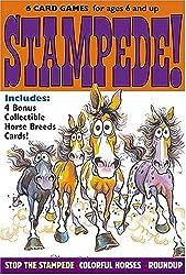 Stampede!: A Horsin' Around Card Game (Horsin' Around Card Games)