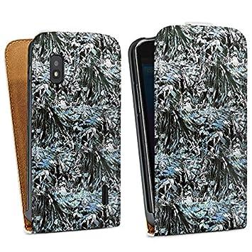 Google Nexus 4 Carcasa Hard Case Cover Patrón Plantas Busch ...