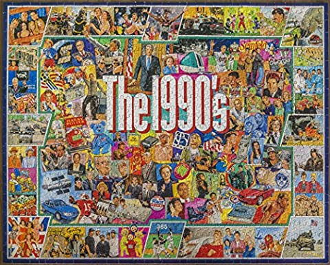 White Mountain Puzzles - The 1990s - 1,000 Piece Jigsaw Puzzle (And The Winner Is Jigsaw Puzzle)