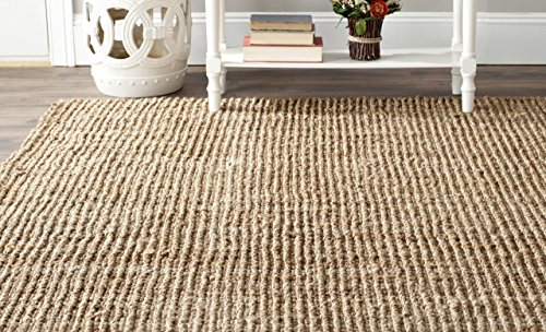 Cheap Safavieh Natural Fiber Collection NF447A Hand Woven Natural Jute Square Area Rug (6′ Square)
