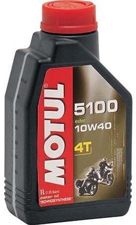 Motul 5100 4T - Aceite semisintético para motocicleta 10W40
