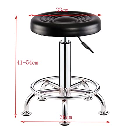 Amazon.com: YZQAH Barstools Wrought Iron Makeup Stool ...