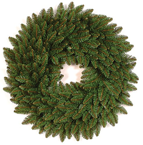 Holiday Essentials 24 Inch Colorado Spruce Green Christmas Wreath (Large Image)