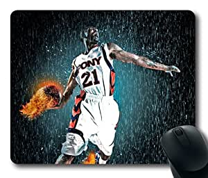 Sport Fires the Action Mouse Pad, Customized Rectangle Mousepad Diy By Bestsellcase