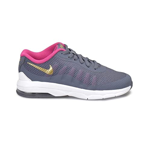 Nike Zapatillas Air MAX Invigor (PS) Light Carbon/Metallic Gold Pin, Deporte