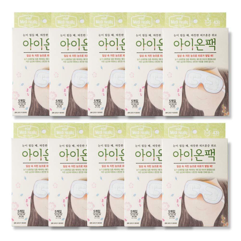 Medi-heally Herbal Heating Eye Relief Patch (10 packs (50 ea))