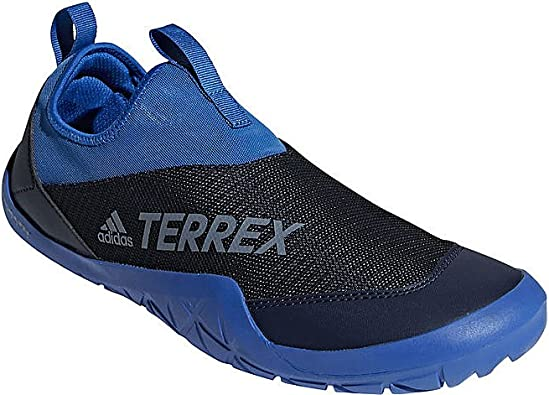 adidas outdoor Men's Terrex CC Jawpaw II Slip On Blue