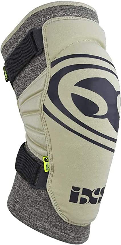 IXS Unisex Flow Evo Breathable Moisture-Wicking Padded Protective Knee Guard