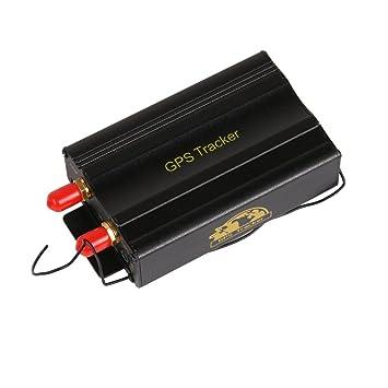 owtek Kits coche vehículo Gps103B TK103B GPS Tracker mando a distancia + Sensor de movimiento +