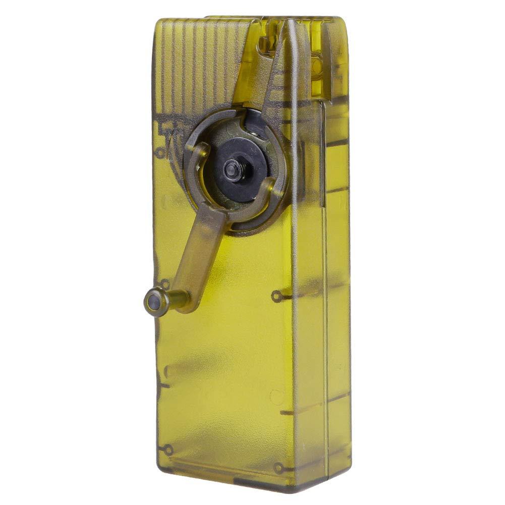 leegoal Caricatore di velocità per Caricatore A Molla BB Caricatore da Caccia Airsoft Caricatore Rapido per Caricatore Quick Loader-6MM 1000 Carrucole montate