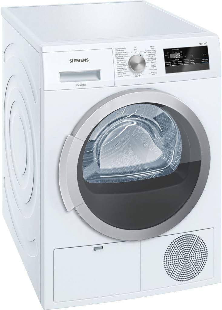 Siemens WT45N202FG Independiente Carga frontal 8kg B Blanco ...