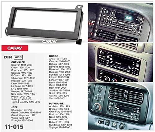 Carav 11 015 Din Autoradio Radioblende Dvd Dash Elektronik