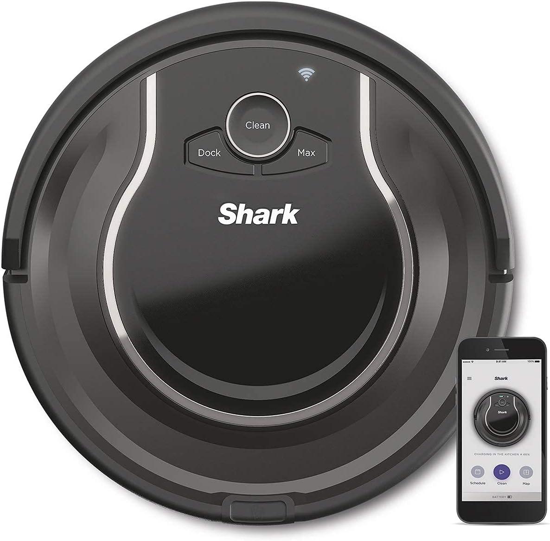 Shark ION [RV750EU] Aspirateur Robot, Exclusivité Amazon, Sols Durs, Tapis et Moquettes,...