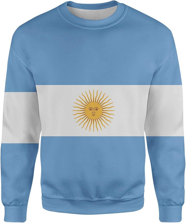 All Over Shirts Argentina Flag Sweatshirt