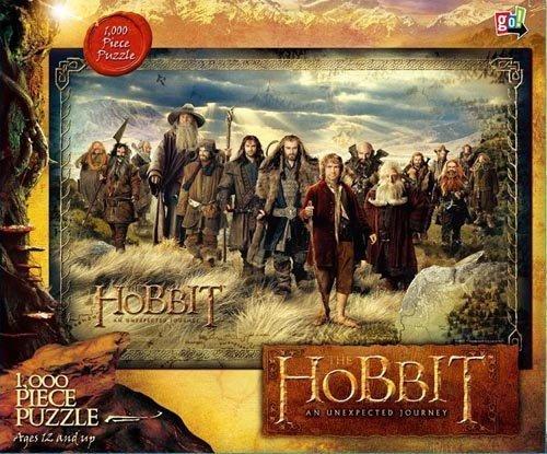 Hobbit: An Unexpected Journey 1000 Piece Puzzle