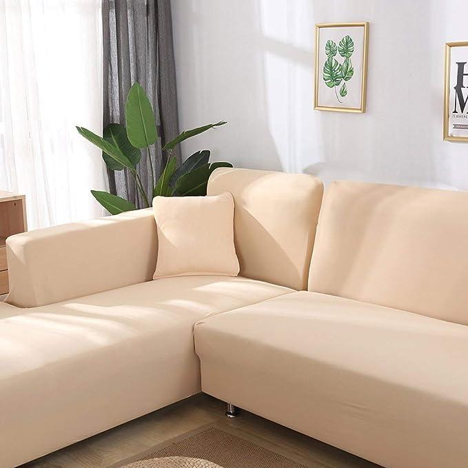 TuTu Home - Juego de 2 Fundas de sofá en Forma de L, 2 ...