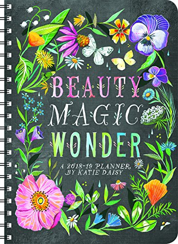 Katie Daisy 2018 – 2019 On-the-Go Weekly Planner