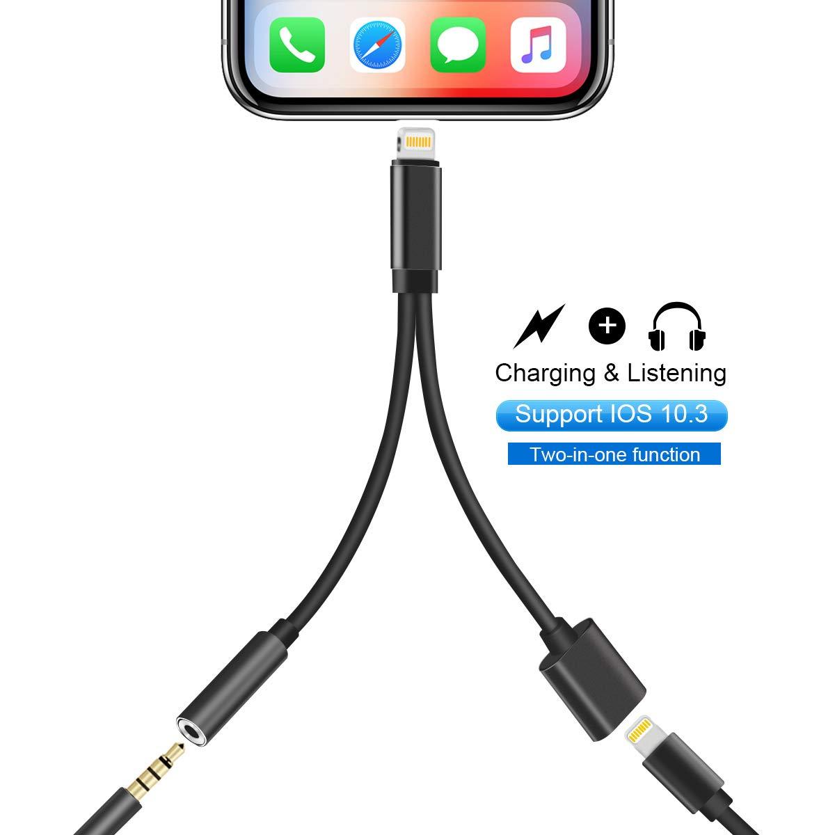 Amazon.com: KPAO - Cargador adaptador para teléfono móvil 2 ...