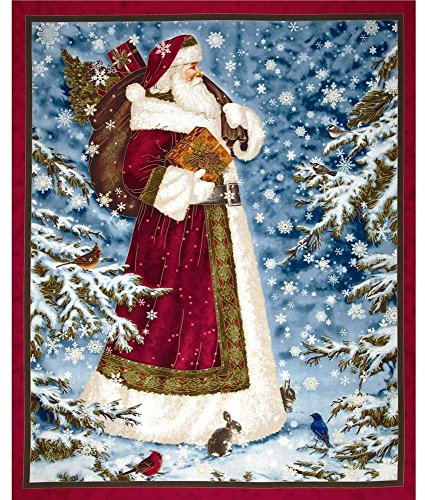 Santa Clause Art (Quilting Treasures