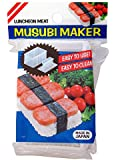 JapanBargain 3186, Japanese Musubi Maker Spam Musubi Mold Sushi Press Mold BPA Free Non Stick Made in Japan
