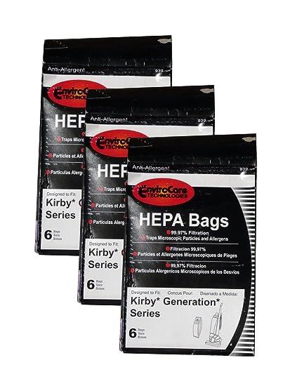 Amazon.com: 18 Kirby Vacuum Cleaner HEPA Cloth-like twist on ...