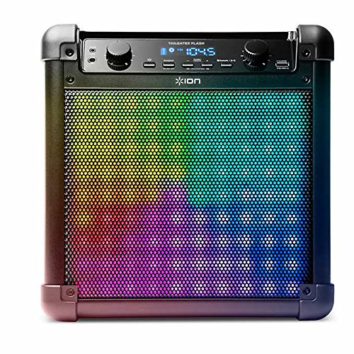 Ion Audio Tailgater Flash Wireless Rechargeable Speaker System with Sound-Reactive Lights by ION Audio