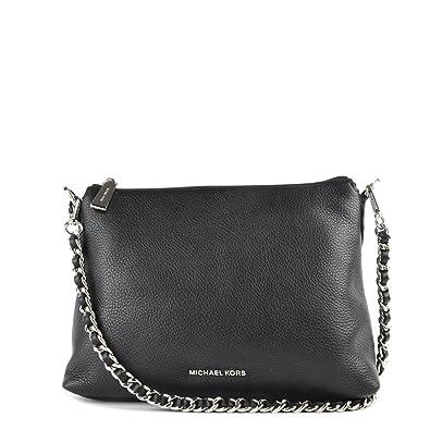 e5c77d1475048 MICHAEL by Michael Kors Zoe Small Black Messenger Bag one size Black ...