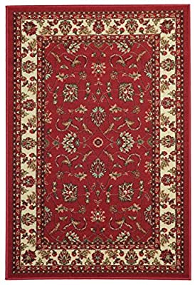 Maxy Home Hamam Collection Rubber Back Traditional Area Rugs