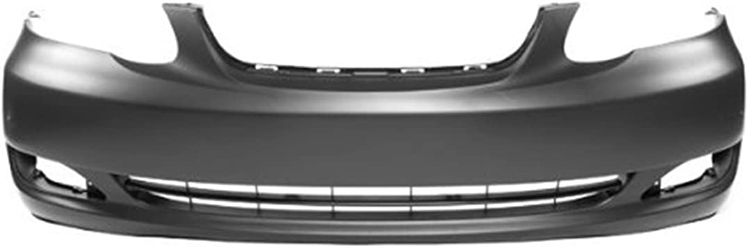 NEW Painted To Match Front Bumper Cover Replacement for 2005-2008 Toyota Corolla