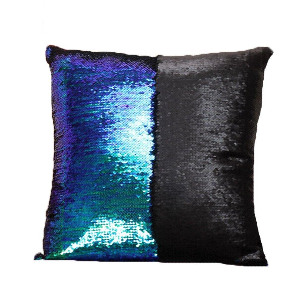Sinotop Luxus Doppel Farbe Glitter Pailletten Kissenbezug Startseite ...