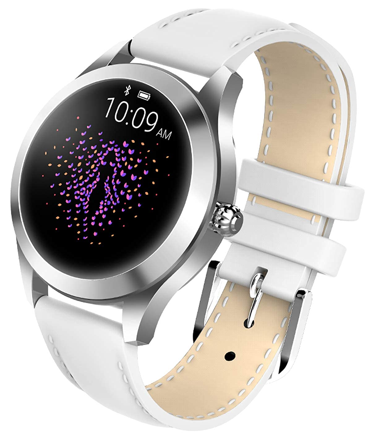Amazon.com: Womens Smart Watch Android Fitness Tracker Heart ...