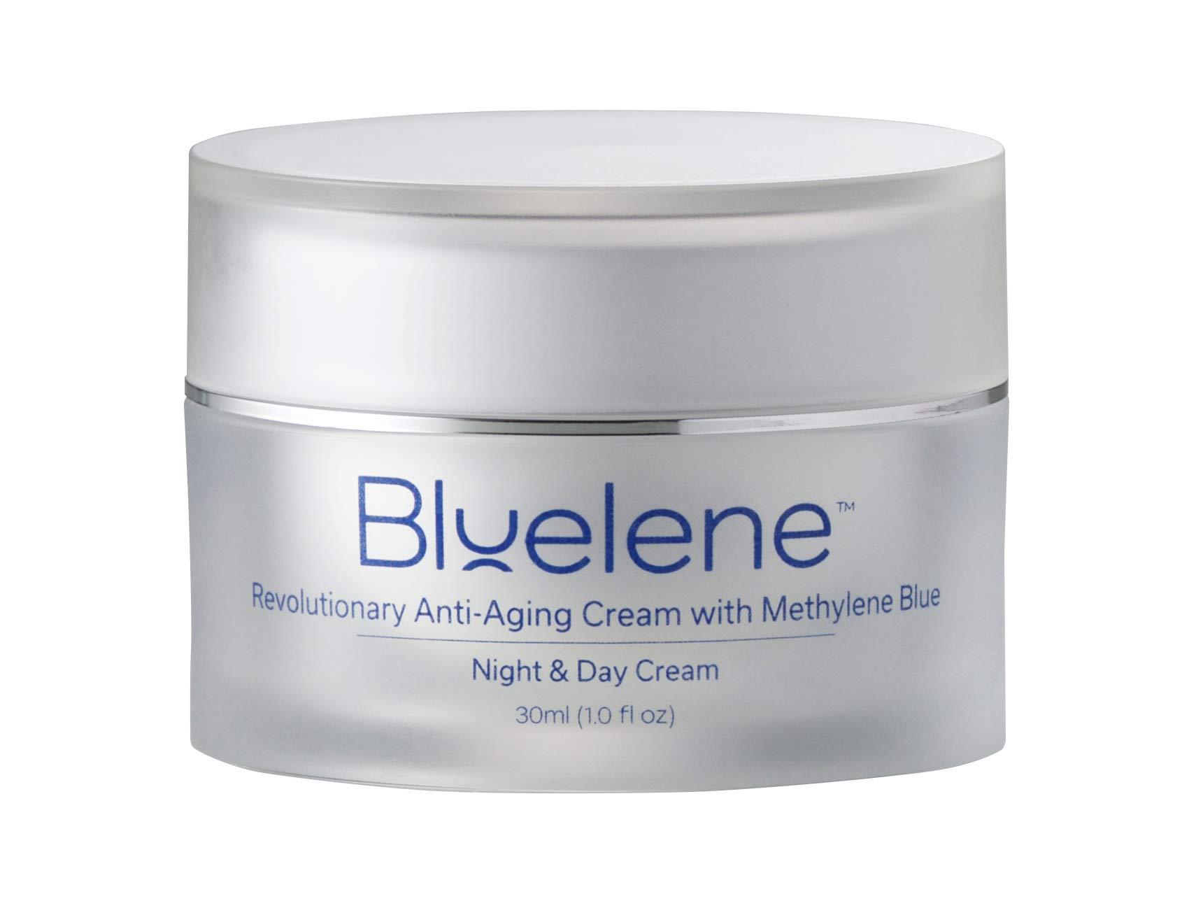 Anti Aging Day & Night Cream, Bluelene. Revolutionary Anti Wrinkle Face Cream with Methylene Blue (30 ml)