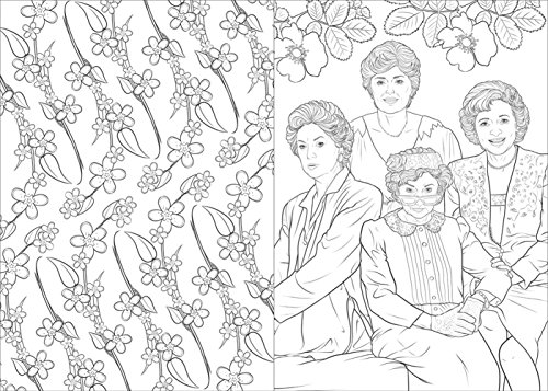 Art Of Coloring Golden Girls 100 Images To Inspire