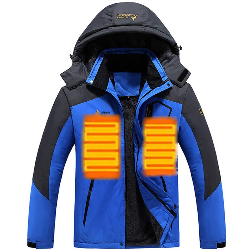 RSTJ Sjcw Men es Waterproof Fleece Parka Windproof Ski