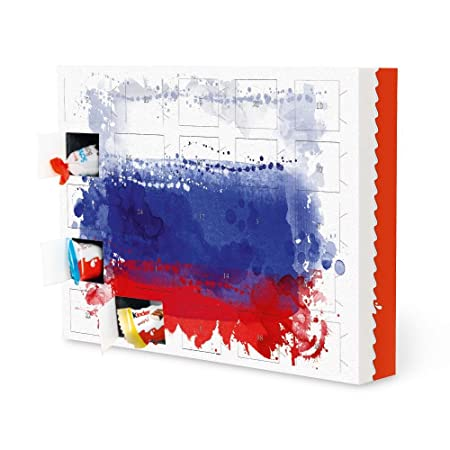 Sport Weihnachtskalender.Advent Calendar Russia Flag Reise Reise Countries Sport Sports