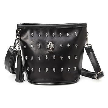 Amazon.com   Best-topshop Shoulder Bag with Zipper for Women Girls ... 068b708039e3b