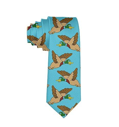 SWEET TANG Corbata de Seda de poliéster con diseño de Patos ...