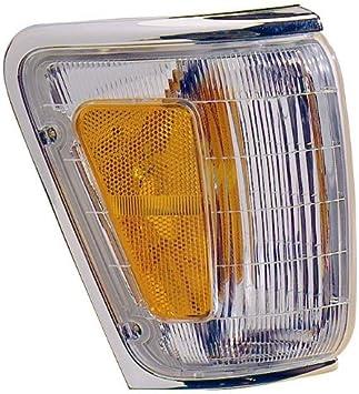 Corner Light for TOYOTA 4RUNNER 1992-1995 RH Assembly with Chrome Trim