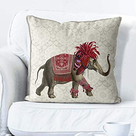 Elefante Decoración Almohada de Elefante Decoración India ...