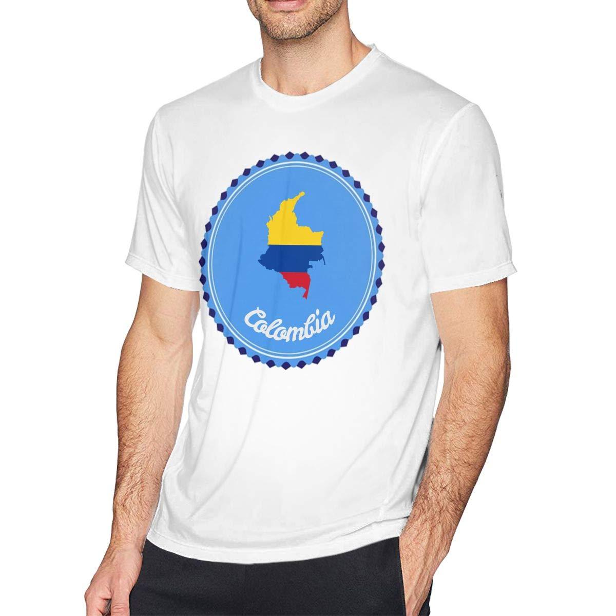 Casual Shirt for Men Teenagers New York Mens Shirt Short Sleeve T-Shirt