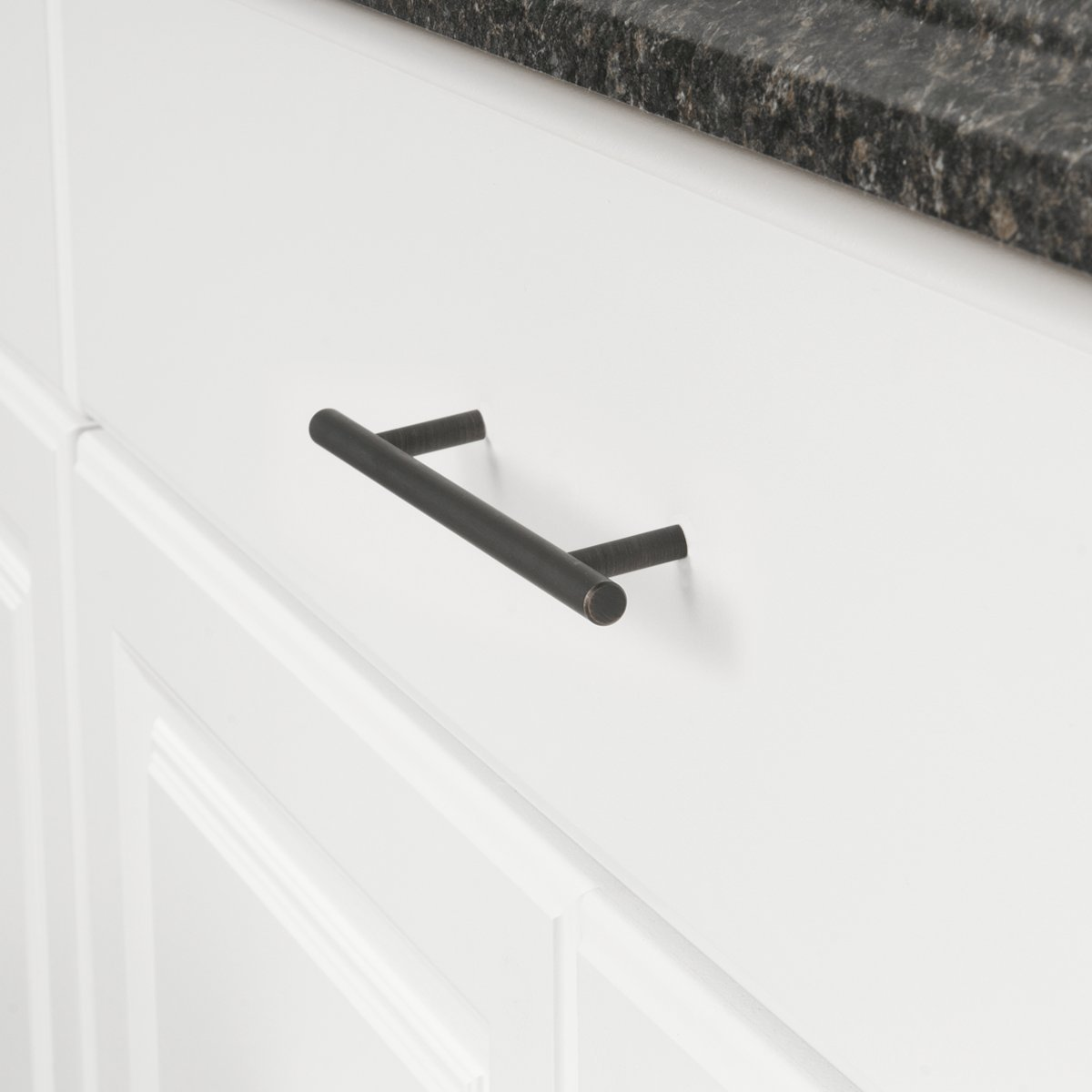 espacement des trous de 16,02 cm Longueur/: 22,07 cm Nickel satin/é Basics Lot de 10 poign/ées de placard Barres style europ/éen diam/ètre de 9,5/mm