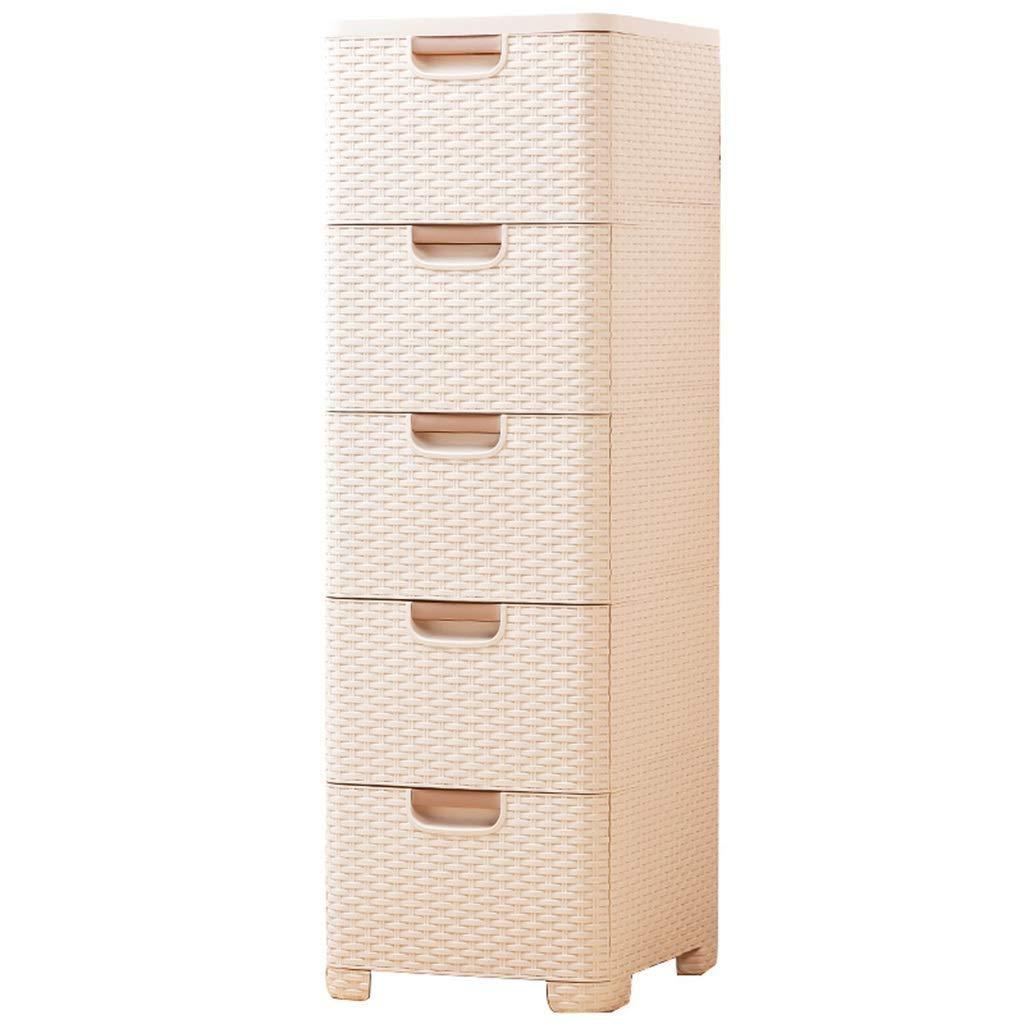KSW_KKW Kunststoff-Fach-Speicher-Schrank, Multi-Funktions-Schrank Badezimmer Locker Rack-Küche Clip Speicher Narrow Kabinett