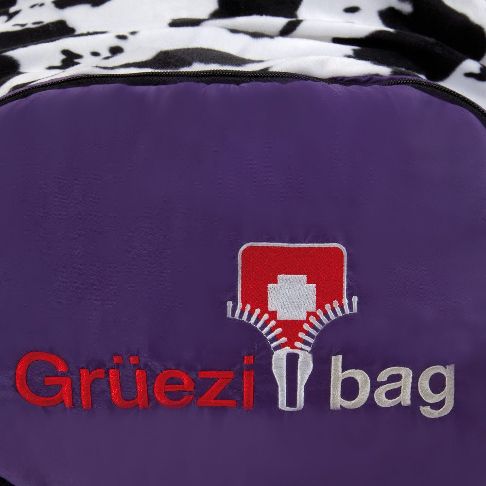 34 x 20 x 20 cm Lila Gr/üezi+Bag Kinder Kinderschlafsack Mitwachsend Grow Butterfly RV Links Schlafsack