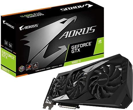 Amazon.com: Tarjeta gráfica GIGABYTE AORUS GeForce GTX 1660 ...
